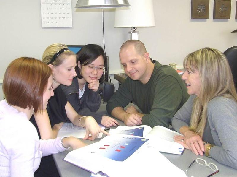 Lab with doc students